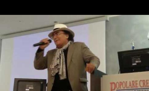 Il video dell'intervento di Al Bano Carrisi all'incontro sulla prevenzione dei tumori a Crema