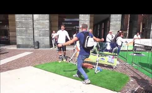 VIDEO Diversamente Uguali a Cremona: il foot-golf