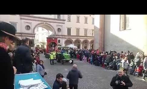 VIDEO Il Gran Carnevale Cremasco: la sfilata di domenica 17 febbraio