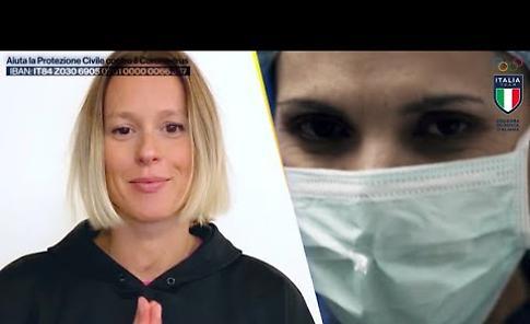 """VIDEO """"L'ITALIA CON VOI"""": il toccante messaggio dell'Italia Team a chi sta lottando per salvare vite"""