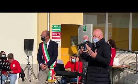 """VIDEO Il governatore Bonaccini a Castelvetro: """"Pronti per la seconda ondata"""""""