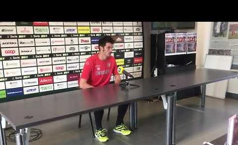VIDEO Cremonese, intervista al portiere Michael Agazzi