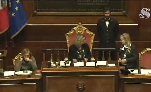 VIDEO L'intervento di Simone Bossi in Senato sul caso-Rimanti
