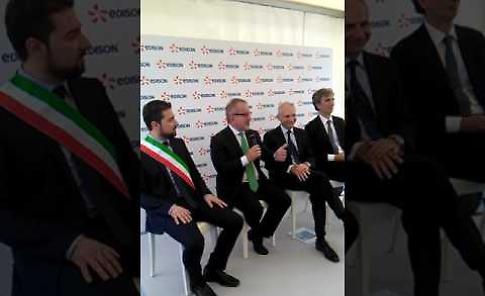 VIDEO Roberto Maroni all'inaugurazione della centrale Edison