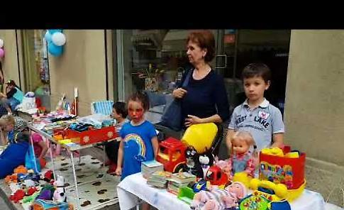 VIDEO Grande entusiasmo per la Città dei bambini