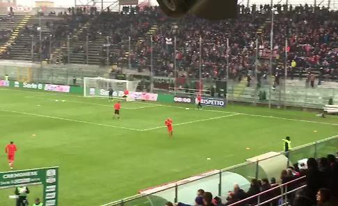 VIDEO Cremonese-Palermo, così in campo