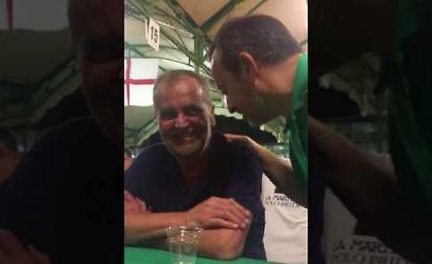 VIDEO - Calderoli alla festa della Lega