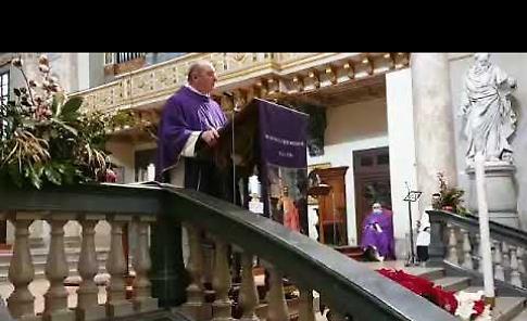 VIDEO Il funerale di Carlo Gardani: le parole di don Claudio Rubagotti