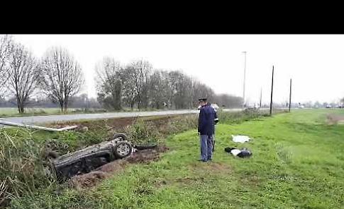 VIDEO L'incidente mortale lungo la Melotta