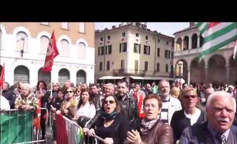 VIDEO La celebrazione del 25 aprile a Cremona