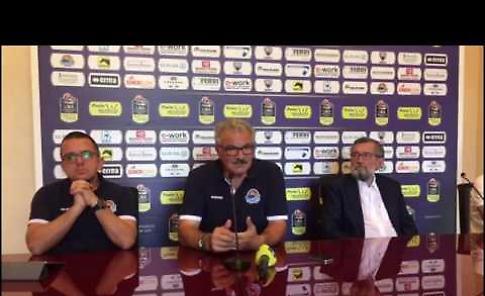 Vanoli, la presentazione di coach Meo Sacchetti