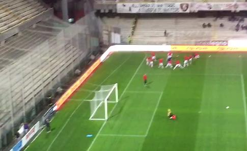 VIDEO Salernitana-Cremonese, così in campo