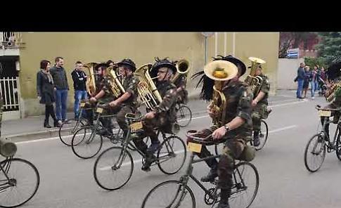 Agricoltura in festa con i bersaglieri ciclisti