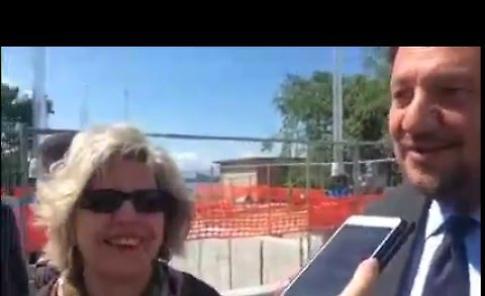 Il video del sopralluogo assessori regionali impianto risalita pesci a Isola Serafini