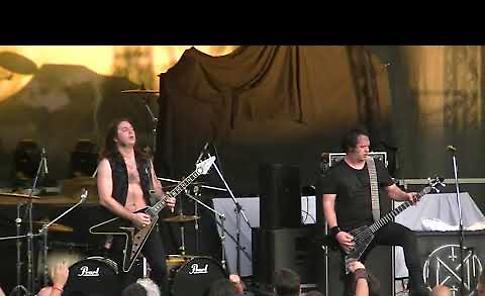 VIDEO L'esibizione della band Night Demon