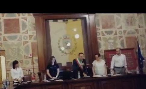 VIDEO Il giuramento del sindaco Piergiacomo Bonaventi