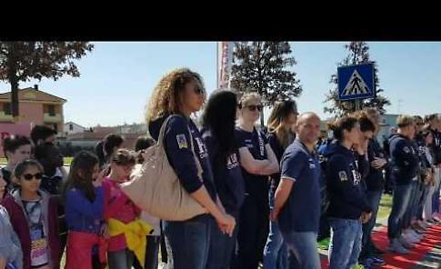 VIDEO L'inaugurazione del Parco 13 Campionesse d'Europa a Casalmaggiore