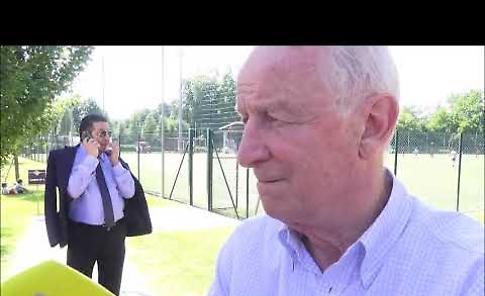 VIDEO Giovanni Trapattoni al Centro Arvedi ospite della Cremonese