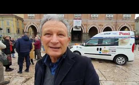 VIDEO Nuovo mezzo per l'Auser di Casalmaggiore, il grazie di Antonino Tortorici