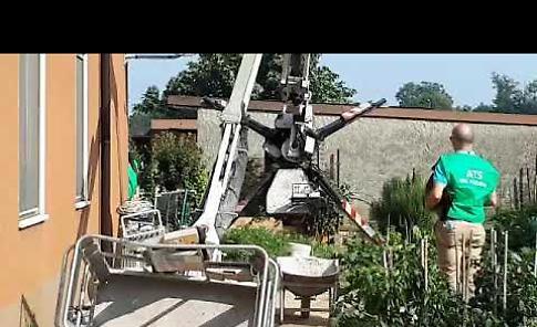 VIDEO I rilievi dell'Ats Valpadana dopo l'infortunio sul lavoro
