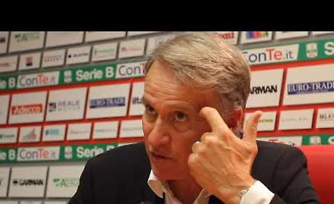 VIDEO Cremonese-Pescara, intervista a mister Tesser