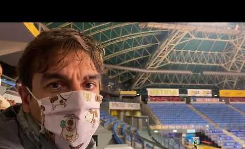 VIDEO Carpegna Pesaro - Vanoli Cremona 95-83: il commento di Fabrizio Barbieri
