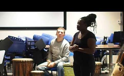 La lezione sulle danze africane