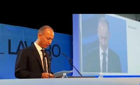 VIDEO L'intervento di Francesco Buzzella, neopresidente della Associazione Industriali di Cremona