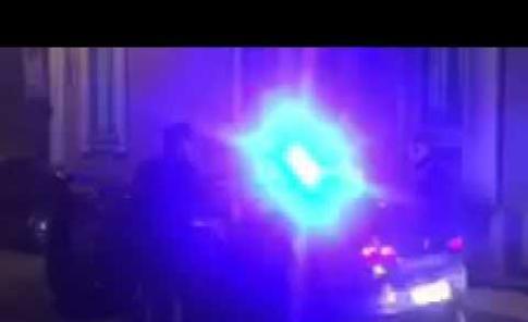 Il video dell'arresto da parte dei carabinieri dei due nordafricani