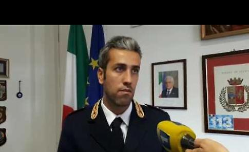 VIDEO Tentata estorsione, conferenza stampa della polizia