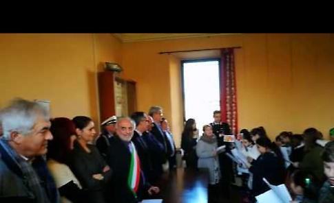 Il video dell'inaugurazione dello scuolabus donato dalla Danone a Casale Cremasco