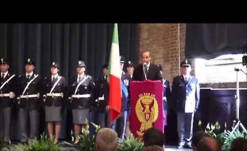 Il video della Festa della polizia di Cremona