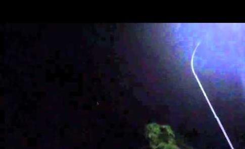 Il video dell'esercitazione aerea notturna nei cieli di Soncino