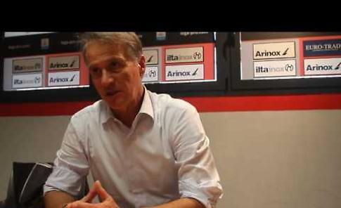 Cremonese-Olbia: intervista a mister Tesser