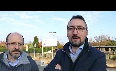 VIDEO Stazione in rovina, Piloni (Pd): 'RFI e Regione intervengano'