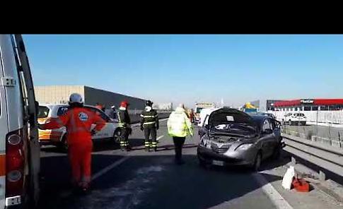 VIDEO1 I soccorsi dopo il tamponamento sulla Paullese