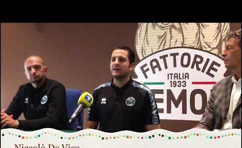 VIDEO Vanoli, la presentazione di Niccolò De Vico