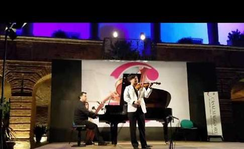 International Festival Casalmaggiore: William Wei (violino) e Giacomo Battarino (piano)
