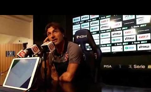 VIDEO Pisa - Cremonese 4-1: intervista a mister Rastelli