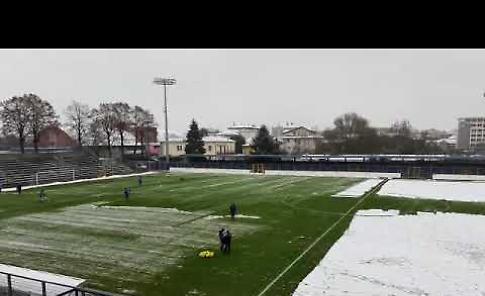 VIDEO Pergolettese-Juventus U23. neve in campo, inizio posticipato