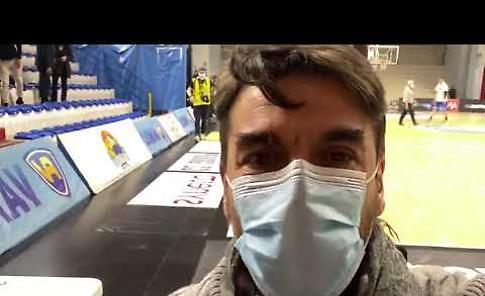 VIDEO Vanoli Cremona - Armani Exchange Milano 81-83: il commento di Fabrizio Barbieri