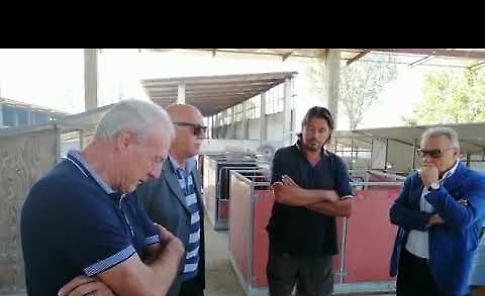 VIDEO La visita dell'assessore regionale Fabio Rolfi