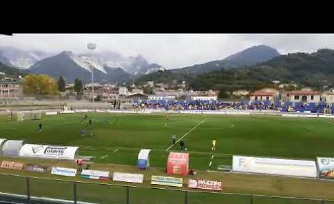VIDEO Carrara-Pergolettese: il prepartita