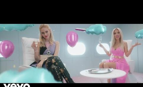 VIDEO 'Non mi basta più', Baby K special guest Chiara Ferragni