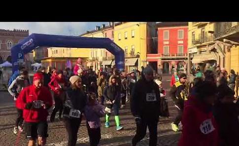 VIDEO La partenza della 16esima Maratonina di Santa Lucia a Casalmaggiore