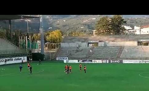 VIDEO Pistoiese-Pergolettese: pre-partita e formazioni