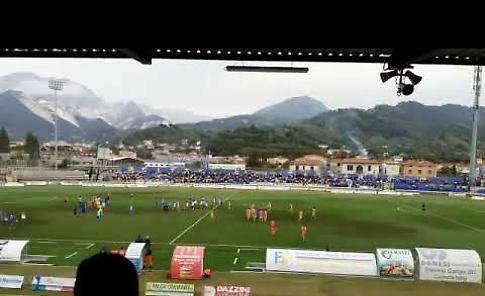 VIDEO Carrarese-Pergolettese 3-0, il commento
