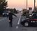 Controlli dei carabinieri, Bmw in fuga