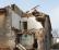 I lavori di demolizione della cascina in via Casalmaggiore
