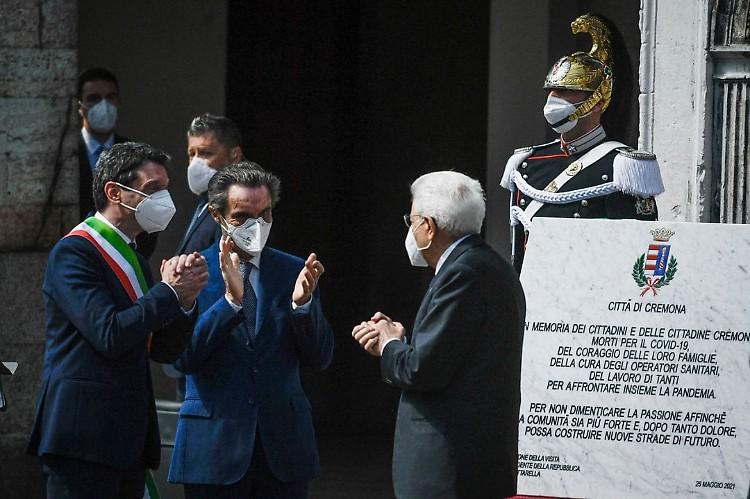 Commemorazione Falcone: Mattarella e Giannini alla cerimonia in Sicilia